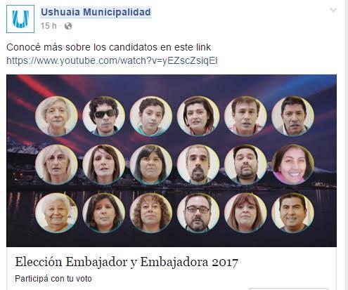 embajadores de ushuaia
